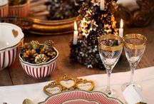 A Christmas Table / Inspiring takes on preparing the perfect holiday table.