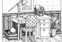 Hand Drawing Furniture