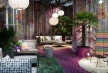 Milano iSaloni 2015 hangulatok / textúrák és színkavalkád