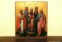 Pravoszláv Ortodox Ikon (+ számla)  DOROTHEUM