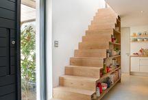 Shelve stairs
