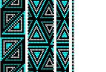 Häkelketten Muster, bead crochet pattern