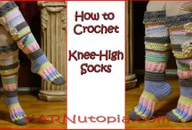 crochet socks video