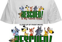 PLUS + SIZE + T'S / All LaCroixTees.com T-Shirts are available in 2X, 3X, 4X, and 5X / by RESCUED! Is My Favorite Breed.