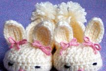 Slippers crochet