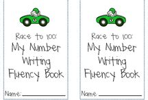 Number Writing / by Hope Schotz
