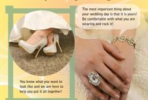Ask the Experts Advice / Giving you stylist tips and shopping advice to help you get the perfect bridal look for you!  / by Jasmine Bridal