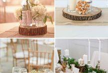 Wedding Tischdeko und Blumen