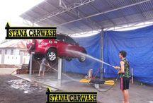 Alat Cuci Mobil Hidrolik / Alat untuk mencuci mobil menggunakan hidrolik