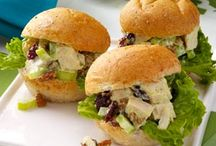 To take to a party / What to take to a party ie. chicken salad sandwiches / by Pamela Davis