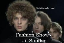 Jil Sander uomo / Jil Sander collezione e catalogo primavera estate e autunno inverno abiti abbigliamento accessori scarpe borse sfilata uomo.