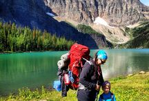 Backpacking with kids / Backpacking Trips. How I manage to go hiking and camping with my little one.