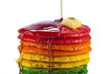 Rainbow food