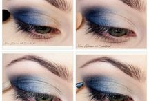 make up oczy