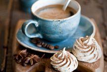 moodboard - blue hot chocolate