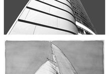 Sailing Buildings - walking through the mind / A photos and drawing projects by Andrea Maina - Photos by Andrea Maina, drawings by Gabriele Artusio - www.sailingbuildings.com