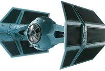 Star Wars / Revell Star Wars plastic model kits