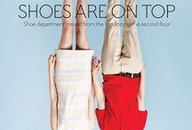 Photography - Shoe Advertisement Inspiration