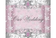 White, Silver & Diamond Wedding / Wedding theme inspiration, wedding details, wedding decorations, white wedding, silver themed wedding, diamond themed wedding