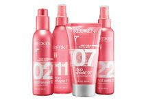 Heat Styling  / Redken hair styling products that protect hair from the damage of heat styling tools and lock in shine and smoothness for a long-lasting finish. Discover the full collection of heat protectant products / by Victoria's 5th Avenue Salon