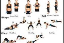 Workout/yoga / by Jessica Faulkner