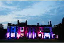 Lighting for Weddings / Examples of lighting by Effect Event at Surrey wedding venue Nonsuch Mansion