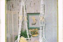 macrame and weaving patterns / these are becoming more popular then ever!!!