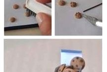 miniature food clay