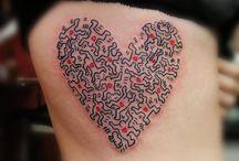 haring tattoo