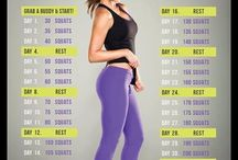 Workouts and health / by Sasha Alberti