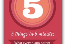 Piano - Parents / Communication with Piano Parents