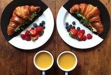 Symmetrische ontbijtjes