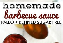 Paleo Condiments, Sauces, and Dressings