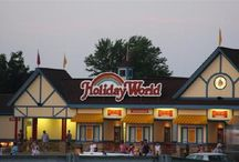 Evenings at Holiday World / After the sun goes down at Holiday World, it's cooler in more ways than one ...