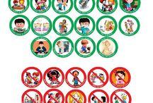 regras e educação para crianças