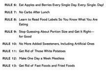 Diet planning