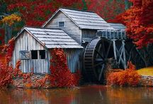 old mills / by Janice Johns