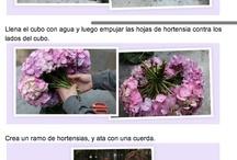 Deco Flores-Velas