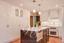 White Kitchens / White kitchens are timeless, elegant and appeal to the widest range of design styles.