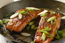 Grillen Fisch und Meeresfrüchte