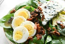 Food [Salad] / Many delicious salads for when you crave something fresh and healthy! / by Diary of a Semi-Health Nut