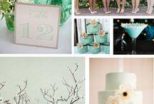 Mint wedding theme / Mint