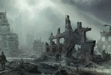 Post Apocalyptic Environment Concept
