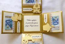 originalne darceky z bankoviek