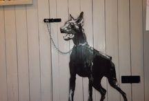 stencil-art - Hanne C. Filtvedt / mine bilder