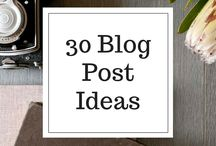 """#LifeOfABlogger / These are ideas to use on my blog at """"http://4rmeddy.blogspot.com"""""""