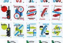 Inspiration graphique - Inspiring Graphic Design / Graphisme, flat design, typographies, éléments graphiques, pictogrammes
