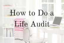 Life Audit/Productivity/Wellness