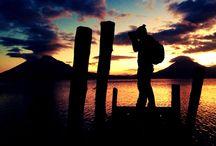 Sunset / Atitlan Lake