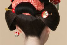 Japanese traditional hairstyle